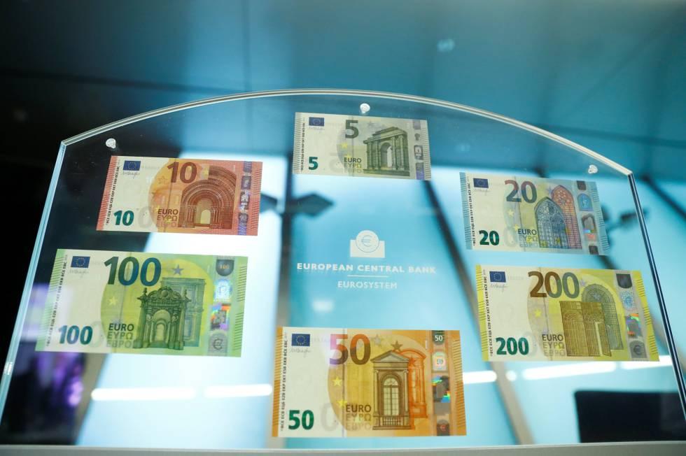 Lanzan nuevos billetes de 100 y 200 euros
