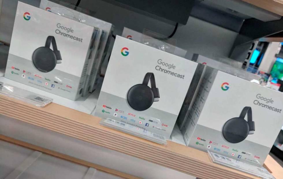 Sin ser presentando, venden por error el nuevo Chromecast