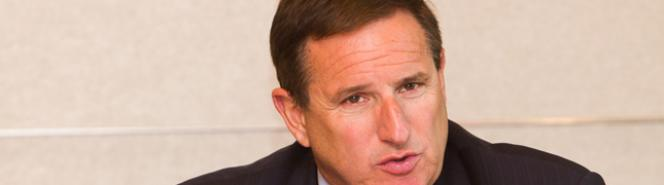 Mark Hurd, presidente de Oracle