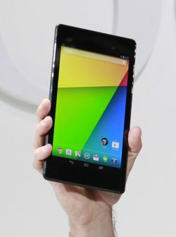 Nueva tableta Nexus 7 de Google.