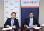 Sareb firma un acuerdo de financiación con ING Direct