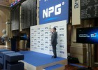 NPG se dispara un 65% el día del debut