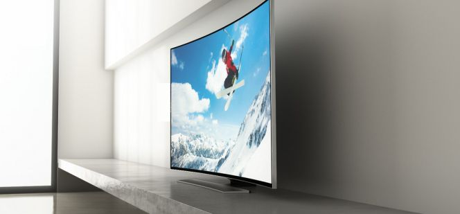 Por qu comprar un televisor curvado smart tv cinco d as for Fotos de televisores