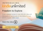 Amazon prepara Kindle Unlimited, su