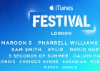 Pharrell Williams y Maroon 5 encabezan el iTunes Festival de Apple