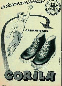 Antigua publicidad de Gorila. e569510bbadf