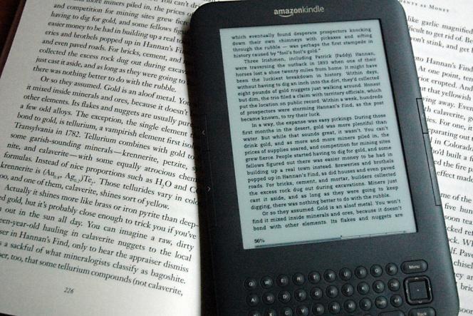 Los libros para Kindle que no son de Amazon pueden provocar el robo