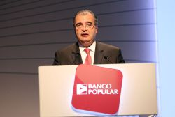 Ángel Ron, presidente del Banco Popular