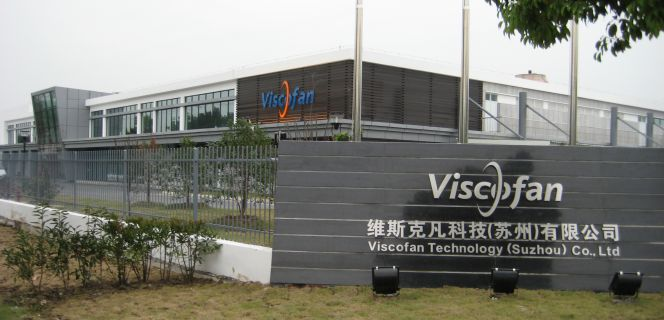 Fábrica de Viscofan en China.