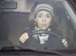 Fobia a conducir de noche