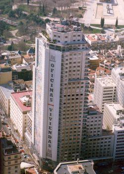 torre de madrid una imagen de