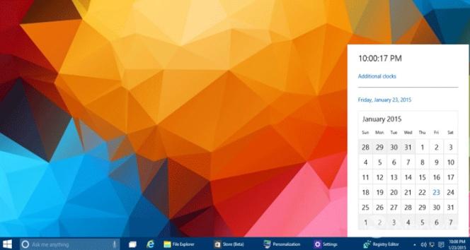Abre Mi Calendario.Windows 10 Tiene Un Calendario Y Reloj Secretos Asi Se