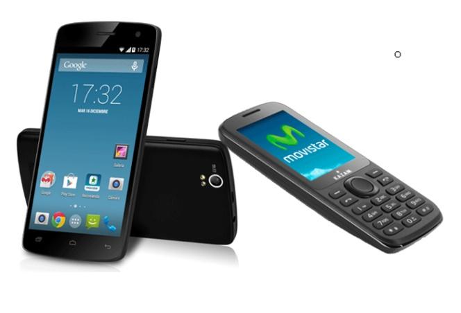 Movistar Comercializará El Kazam Trooper 450 Y Life B5 Smartphones