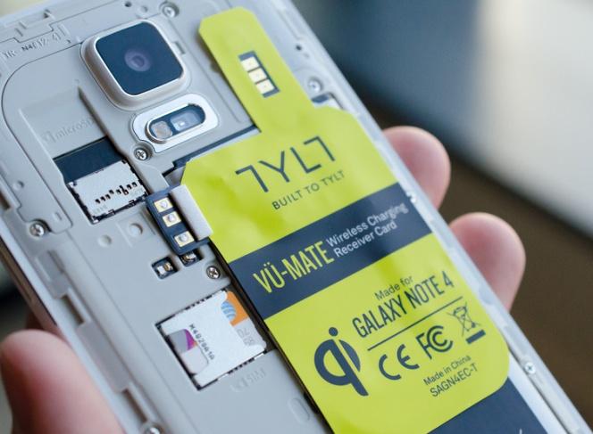 c01f6ae9869 Cómo añadir carga inalámbrica al Samsung Galaxy Note 4 sin aumentar su  grosor