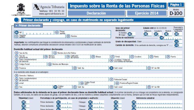 Cita agencia tributaria autónomos declaración de la renta
