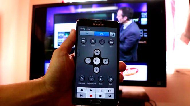 Convierte tu samsung galaxy en un mando a distancia para - Tamano televisor distancia ...