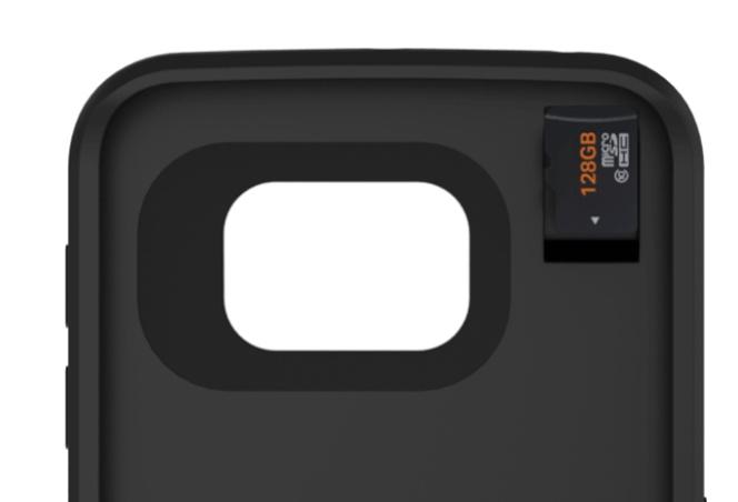 carcasa bateria almacenamiento iphone 6s