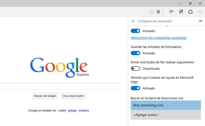 Cómo Hacer Que Google Sea El Buscador Por Defecto En Edge
