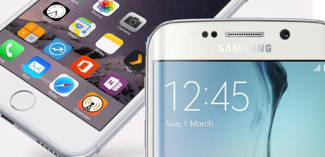3e7c9dee4f8 Comparativa: Samsung Galaxy S6 Edge Plus vs iPhone 6 Plus ...