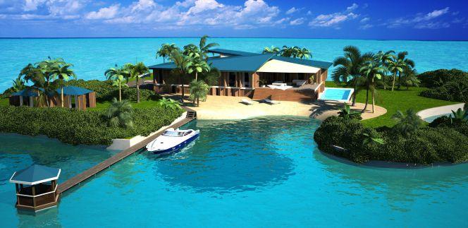 Vivienda lo ltimo para millonarios mansi n en una isla flotante empresas cinco d as - Casas de millonarios ...