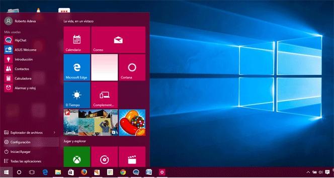f311de3b2bb Cómo personalizar la apariencia de Windows 10 | Lifestyle | Cinco Días