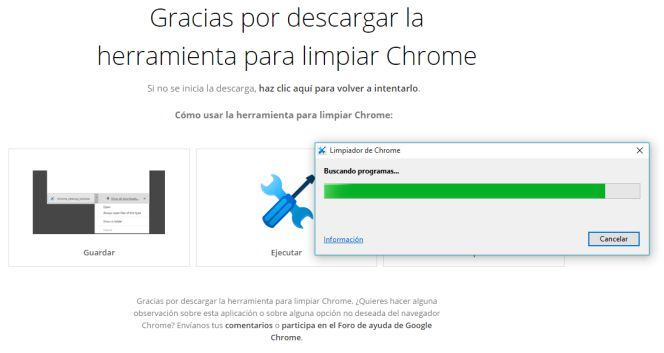 """Google lanza una herramienta para """"limpiar"""" su navegador Chrome"""