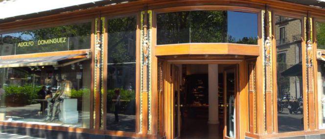 Adolfo dom nguez vende por 45 millones un edificio en for Tiendas adolfo dominguez valencia