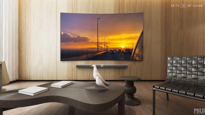Nuevo Xiaomi Mi TV 3S, un televisor 4K curvo de 65