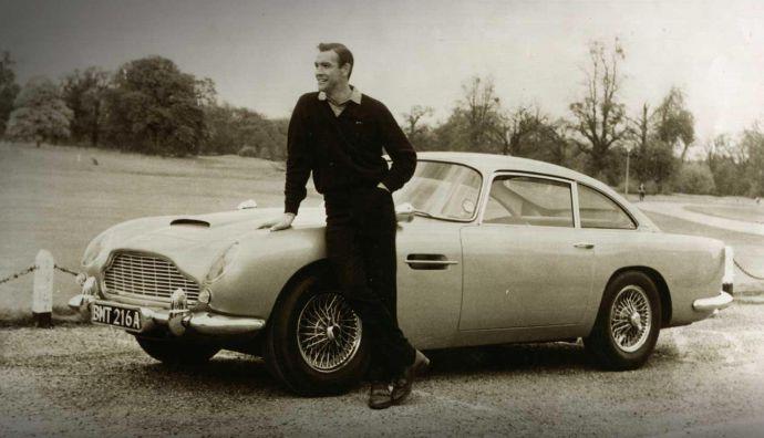 La historia de Aston Martin, el coche favorito de James Bond