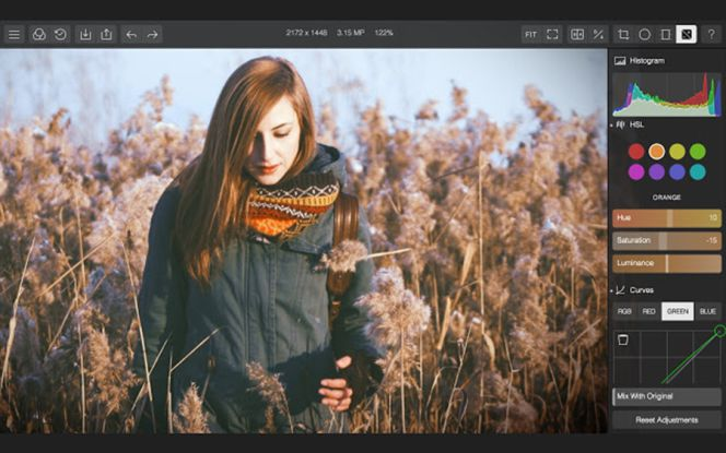 Polarr Photo Editor, una alternativa gratis a Photoshop que se instala en Google Chrome