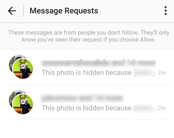 Instagram te oculta en este menú secreto algunos de los mensajes que ...
