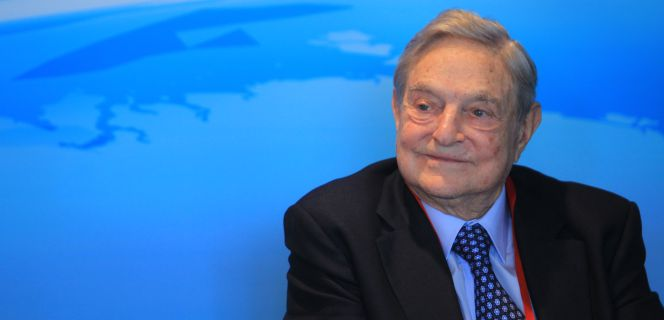George Soros, fundador de Soros Fund Management.