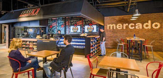 carrefour se apunta al gourmet con su nuevo espacio en madrid empresas cinco d as. Black Bedroom Furniture Sets. Home Design Ideas