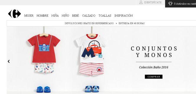 Nueva York diseño de variedad el más baratas Carrefour se lanza al comercio online de ropa | Empresas ...