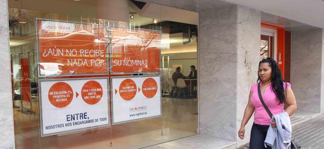 Ing se reinventa a trav s del m vil y abre 100 cajeros for Horario de oficinas de ing direct en madrid