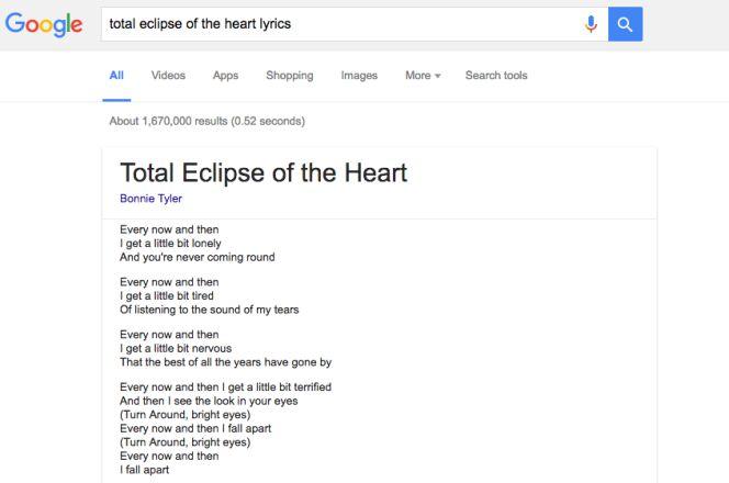 Google Ya Muestra Letras De Canciones De Forma Rápida Lifestyle