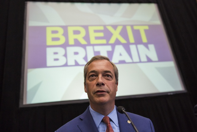 LONDON, ENGLAND - JULY 04: UKIP Leader Nigel Farage speaks at a press conference at the The Emmanuel Centre on July 4, 2016 in London, England. Mr Farage today said he would be standing down as leader of UKIP during a press conference to outline his party's plan for 'Brexit' following the referendum which saw the United Kingdom vote to leave the European Union. (Photo by Jack TaylorGetty Images)