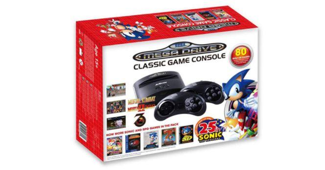 Dos Nuevas Mega Drive Con 80 Juegos Gratis Haran Frente A La Nes De