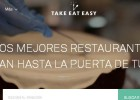 Take Eat Easy no resiste ante Just Eat y La Nevera Roja