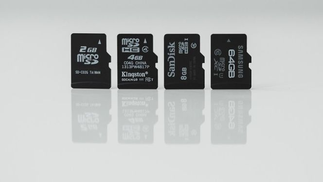 tarjetas de memoria sd tipos