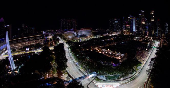 Circuito F1 Singapur : Gran premio de singapur de f singapur donde la fórmula