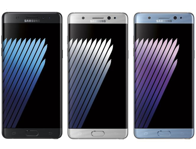 Frontal del Samsung Galaxy Note 7