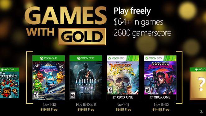 Juegos Gratis De Xbox One Y Xbox 360 Para Noviembre De 2016