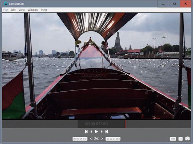 Un editor gratuito y portátil para trocear vídeos y sacar fotogramas ...