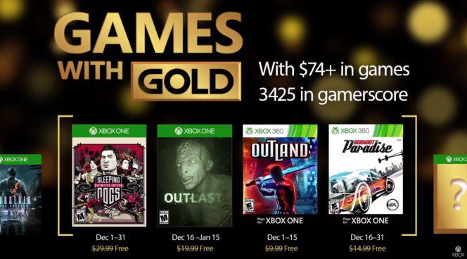 Juegos Gratis Para Xbox One Y Xbox 360 En Diciembre De 2016
