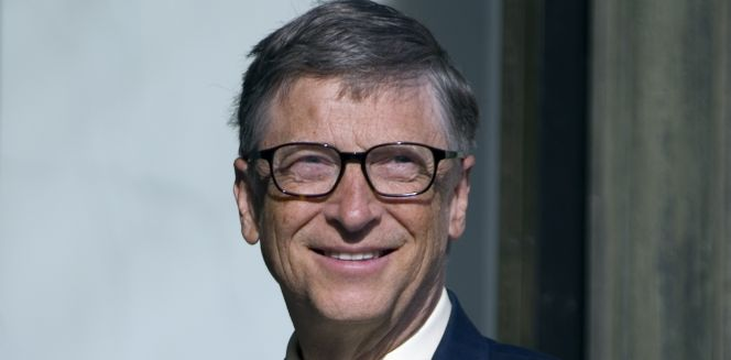 Bill Gates, fundador de Microsoft.