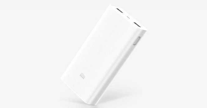 Nueva batería externa Xiaomi Mi Power Bank con 20.000mAh y Quick Charge 3.0