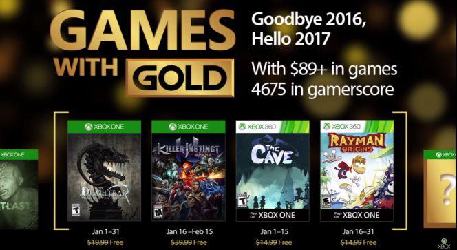 Juegos Gratis De Xbox One Y Xbox 360 Para Enero De 2017 Lifestyle
