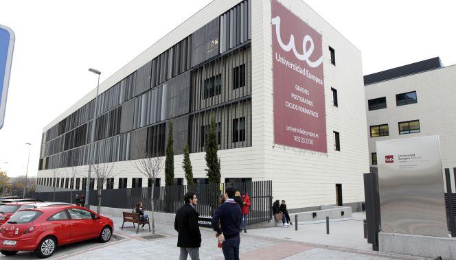 El campus de la Universidad Europea en Alcobendas, a la venta ...