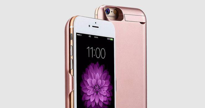 39d92b5884f Disfruta de batería extra en tu iPhone 7 o iPhone 6s con estas ...